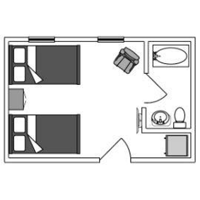 Large Double Floorplan